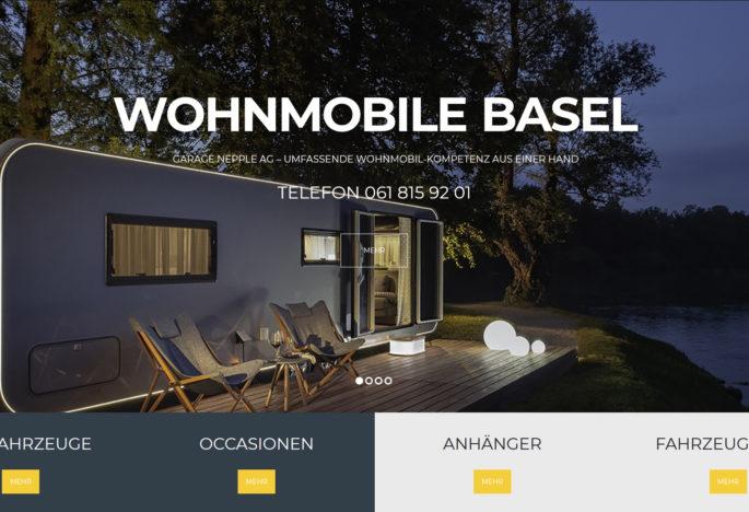 Neues Erscheinungsbild der Wohnmobile Basel