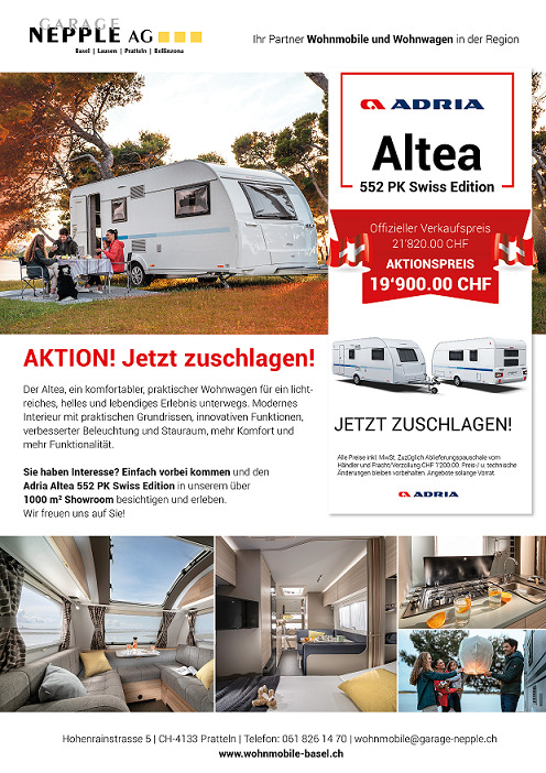 Aktion Adria Altea - Jetzt zuschlagen !